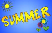 Sommer — Stock fotografie