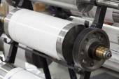 Printing machine parts — Stock Photo