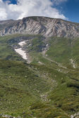 Path to climbing a Vihren Peak, Pirin Mountain — Stock Photo
