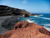 火山と海 — ストック写真