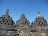 Borobudur in Java — Stock Photo