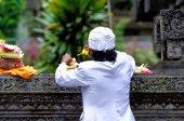 Hindu offering — Stock Photo