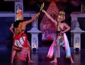 Javanese dances — Stock Photo