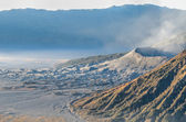 Mount Bromo in Java — Zdjęcie stockowe
