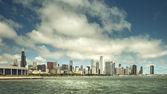 Chicago Downtown skyline, United States — Stok fotoğraf