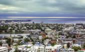 City of Reykjavik panorama — Stock Photo