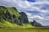 Icelandic mountain landscapes — Stock Photo
