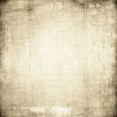 Canvas texture with sctrached background  — Stock Photo