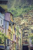 Shantytown Favela in Rio de Janeiro ,Brazil — Stock Photo