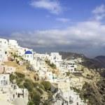 Amazing village of Oia in Santorini Island, Greece — Stock Photo #58728455