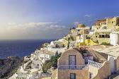 Amazing village of Oia in Santorini Island, Greece — Foto de Stock