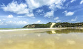 Ponta Negra dunes beach — 图库照片