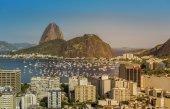Botafogo Bay in Rio de Janeiro — Stock Photo