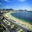 Copacabana Beach and Sugar Loaf Mountain — Stock Photo #64084747
