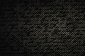 Blur text on dark brown fabric burlap — Foto de Stock