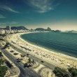 Copacabana Beach and Sugar Loaf Mountain — Stock Photo #68903233