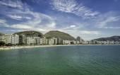 Copacabana Beach  in Rio de Janeiro — Stock Photo