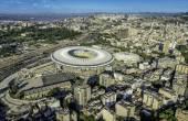 Maracana Stadium in Rio de Janeiro — Stock Photo