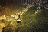 Cable car to Sugar Loaf in Rio de Janeiro — ストック写真