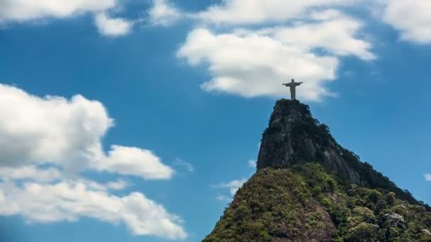 Reedmen Cristo en Río de Janeiro — Vídeo de stock