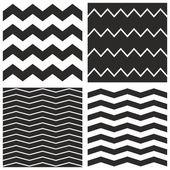 zig zag vecteur chevron carrelage noir et blanc motif