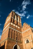 Gothic cathedral St. John Church in Gdansk, Poland. — Stock Photo