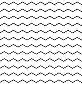 Zig zag vector chevron pattern — Stock Vector