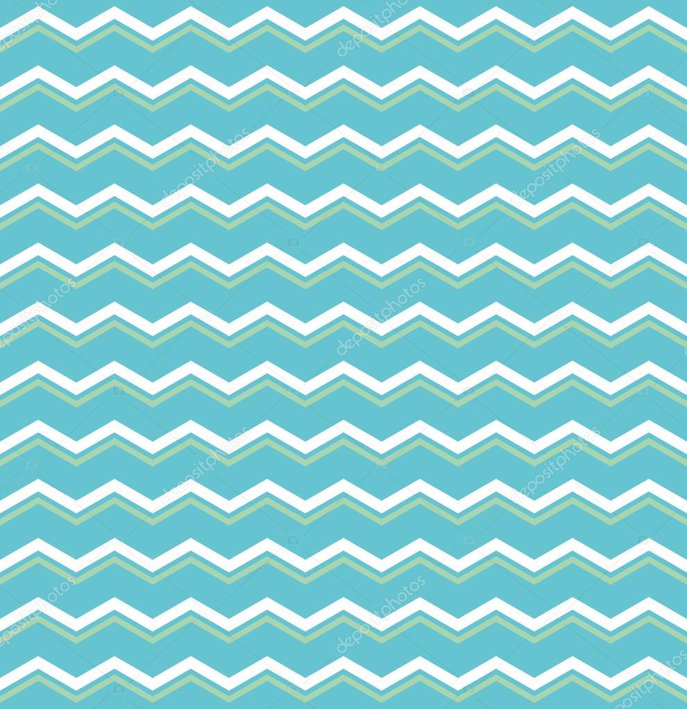 azulejos patru00f3n vector con verde y blanco zig zag impresiu00f3n sobre ...