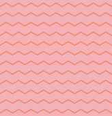 Tile vector pattern with orange zig zag on pink background — Stock Vector