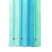 Zipper pastel set isolated on white background — Stock Photo