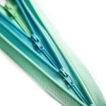 Open zipper pastel set isolated on white background — Stock Photo #66197809