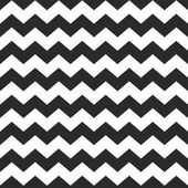 Zig zag vector chevron black and white tile pattern — Stock Vector