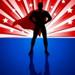 Superhero — Stock Vector #52801827