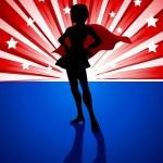 Superheroine — Stock Vector #57509361