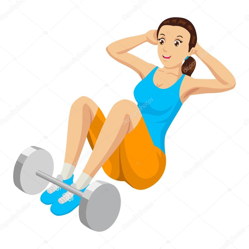 Ejercicio de gimnasio vector de stock rudall30 68537909 for En el gimnasio