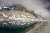 Lake in high Alps — Stock Photo