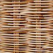 Wicker wood texture — Stock Photo