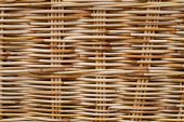 Wicker wood texture — Stock Photo
