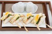 Club sandwich with — Stock Photo