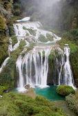 マルモレの滝滝、イタリア — ストック写真