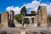 Archeological excavations of Pompeii, Italy — Stock Photo