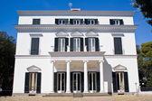 Facade of a neoclassical villa — Stock Photo