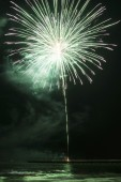 Fireworks in Forte dei Marmi — Stockfoto