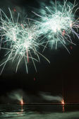 Fireworks in Forte dei Marmi — Stock Photo