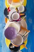 Kolory w kuchni — Zdjęcie stockowe