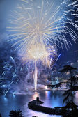 Fireworks Recco Italy  — Stock Photo