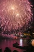 Fireworks Recco Italy  — ストック写真