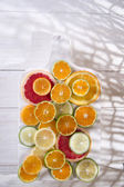 The colors of citrus fruits  — Stock Photo