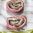 Roll of raw meat — Stock Photo #56584691