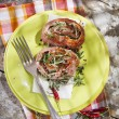Roll meat cooked — Stock Photo #56585793